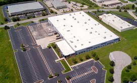 areal photo of industrial building in Lenexa KS owned by Chad Williams